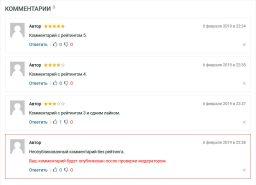 WebPoint PRO - пример комментариев